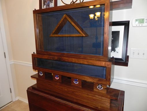 Custom Made Epic Walnut Shadow Box