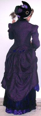 Custom Made Late Bustle Victorian Dresses 1883-1889
