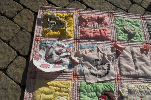 Custom Made Baby Clothes (T-Shirt) Memory Quilt