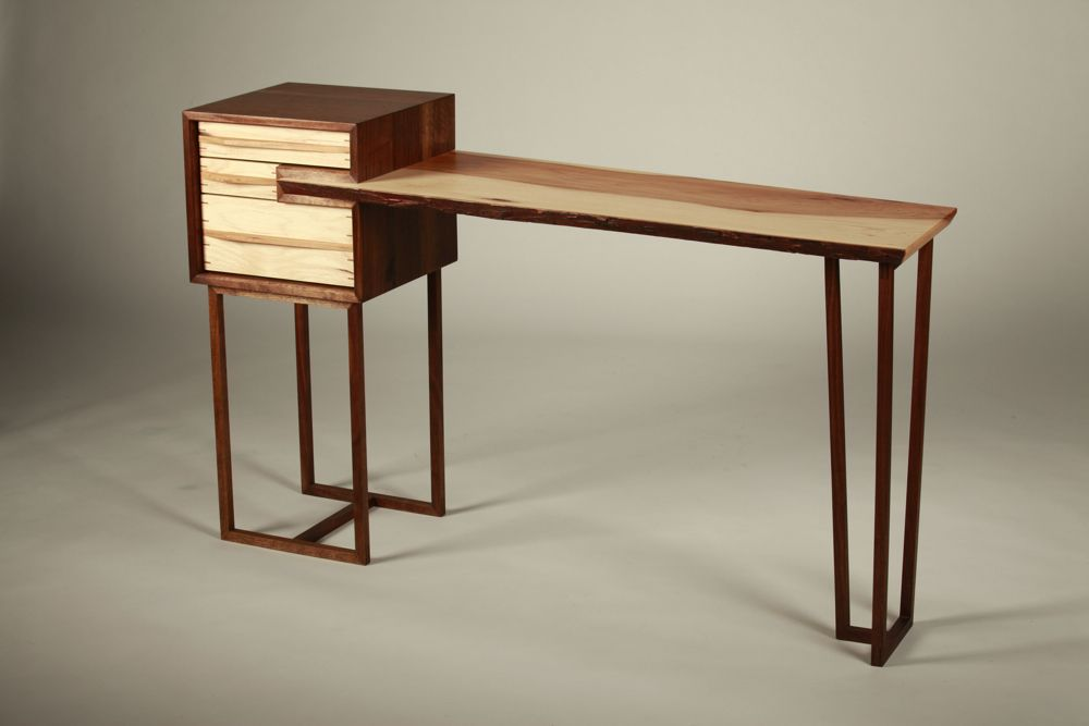 Buy a Handmade Stick And Branch Letter Writing Desk, made to order