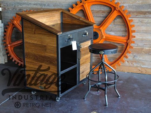 Custom Made Karl Hostess Stand
