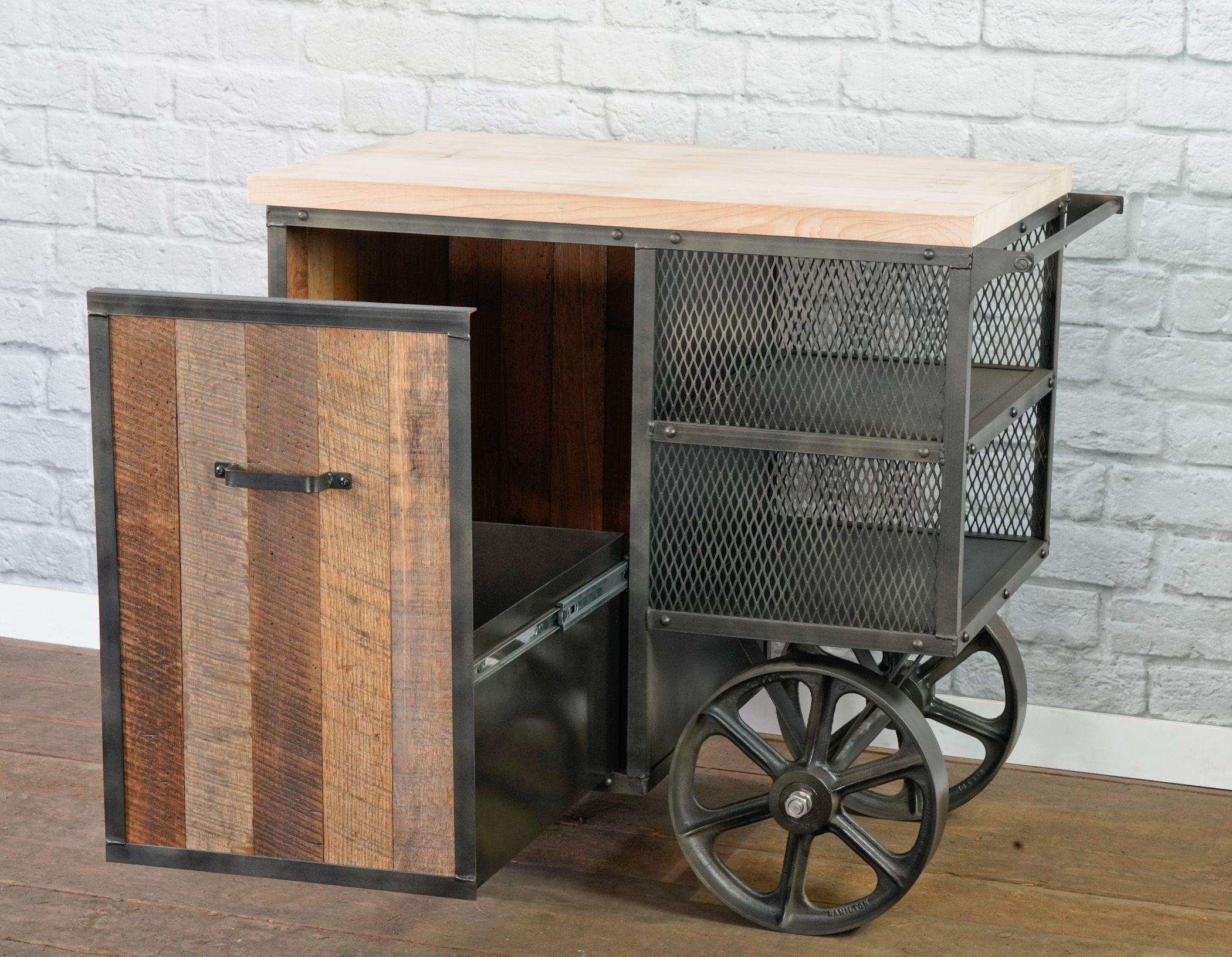 Buy a Hand Made Kitchen Island, Kitchen Island Cart, Modern ...