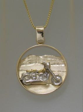 Custom Made Motor Cycle  Pendant