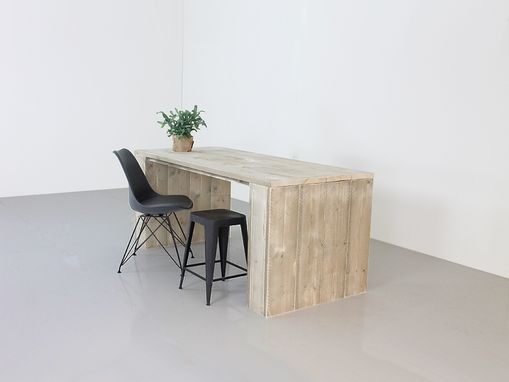"Custom Made Custom Made Pinewood Dining Table & Desk ""Detroit"""