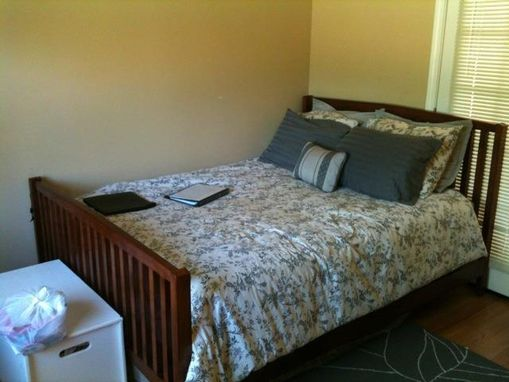 Custom Made Frame And Slat Bed
