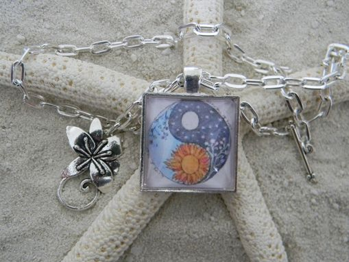 Custom Made Custom Glass Cabochon Pendant 1