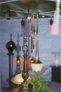Custom Made Lighting Musical Instruments Lamps