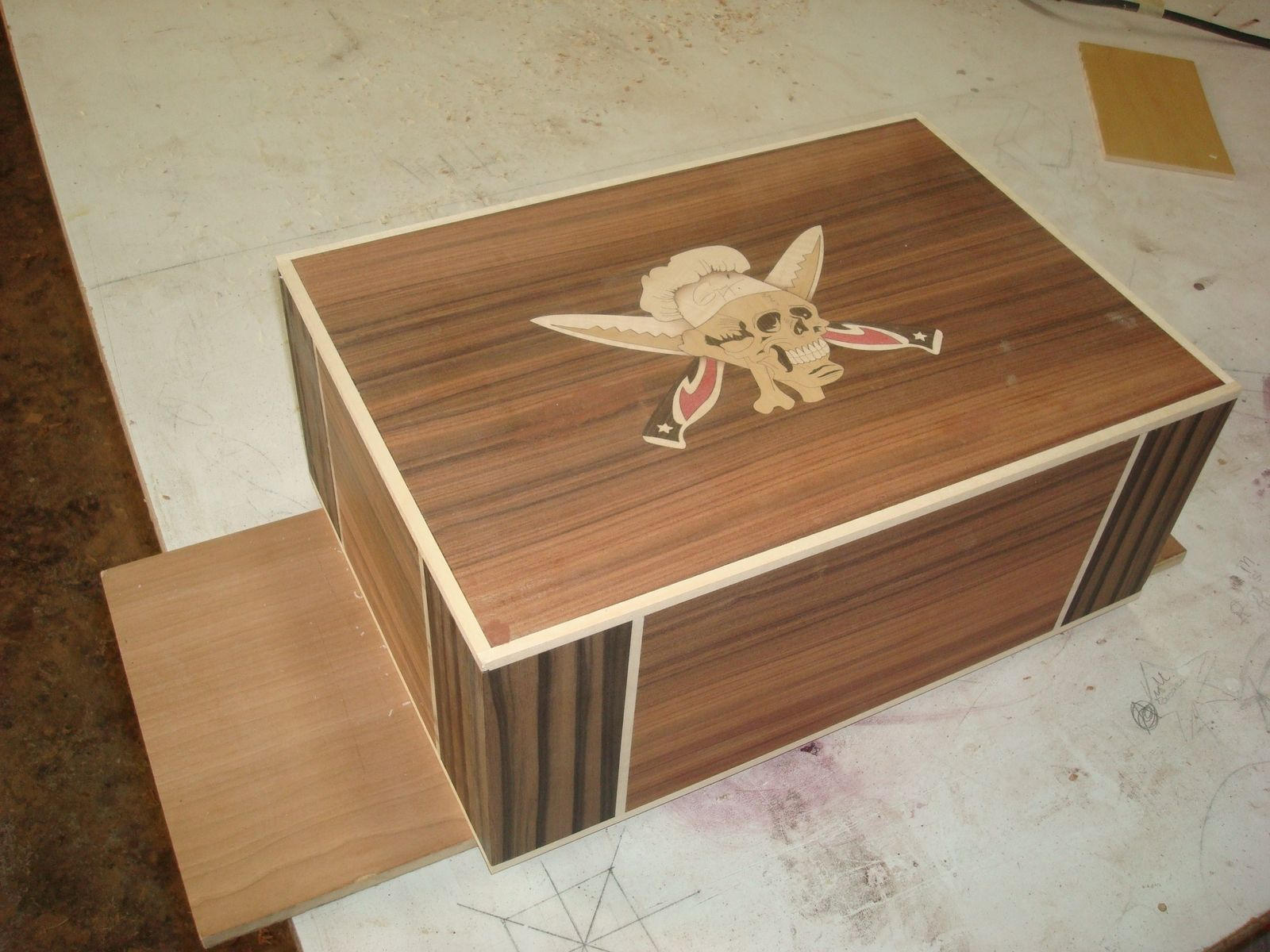 Handmade Custom Cigar Humidor By Christian Baeck Humidors