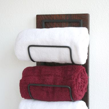 Buy Hand Crafted Wall Mounted Towel Rack Towel Storage