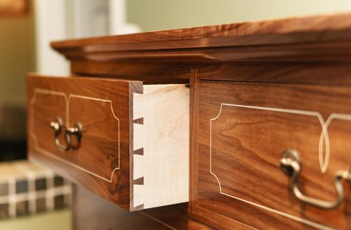 Custom Made Chester County Chest Of Drawers