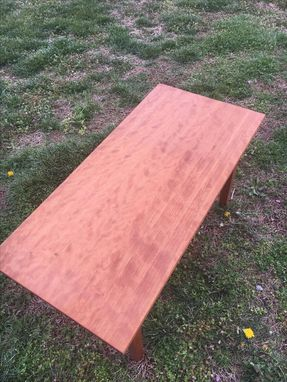Custom Made Cherry Shaker Style Coffee Table
