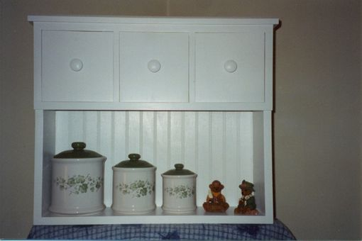 Custom Made Small Storage Shelf