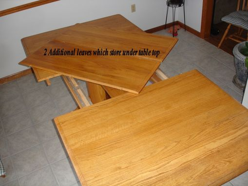 Custom Made Oak Dining / Conference Table