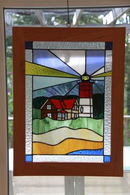 Custom Made Stained Glass Panels