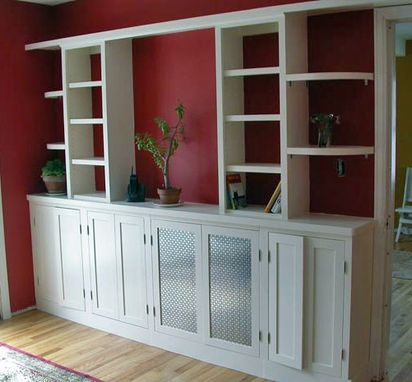 Custom Made Built-In Cabinets And Shelves