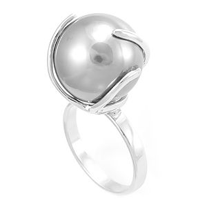 Custom Made Pearl Ladies Ring