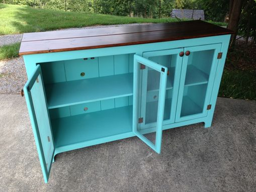 Custom Made Really Cool Media Console