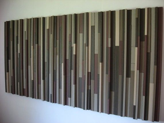 Hand Crafted Modern Wood Headboard By Modern Rustic Art