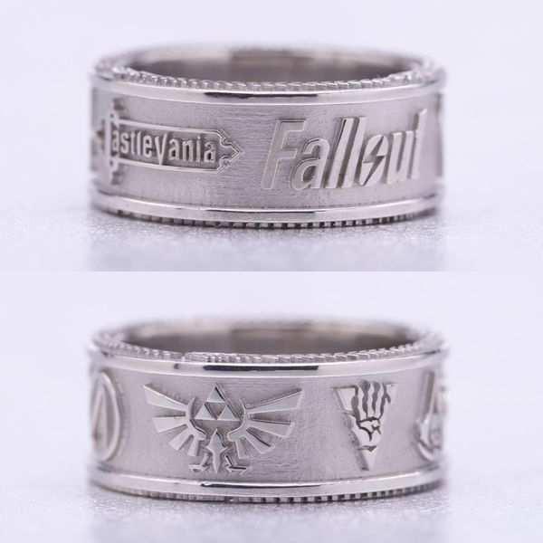 Fallout 4 Wedding Ring.Geeky Engagement Rings Nerdy Wedding Bands Custommade Com
