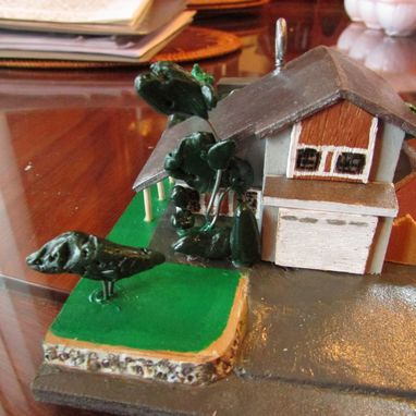 Custom Made Miniature Houses, Buildings, Etc