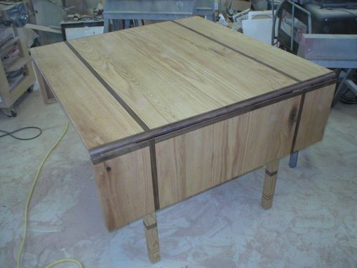 Custom Made Drop Leaf Kitchen Table
