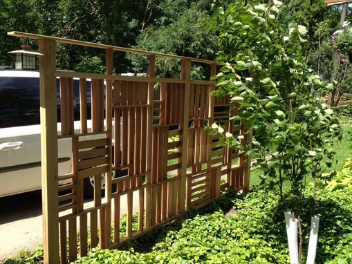 Custom Made Redwood Trellis