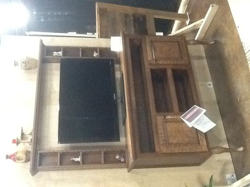 Custom Made Space Saver Entertainment Center