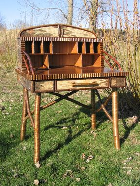 Custom Made Adirondack Writing Desk