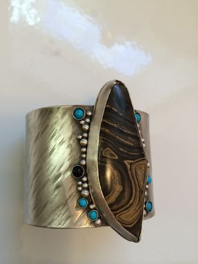 Custom Made Sterling Silver Cuff