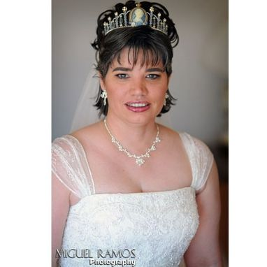 Custom Made Vintage Cameo Bridal Tiara
