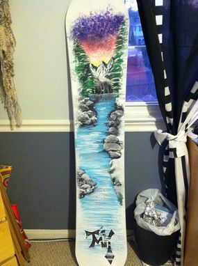 Custom Made Snowboard Makeover
