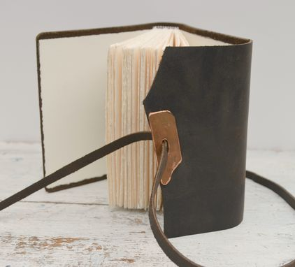 Custom Made Custom Handmade Leather Bound Journal Travel Diary (277)