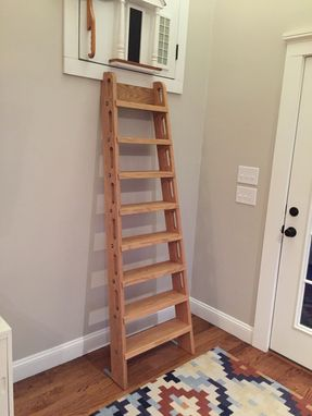 Custom Made Oak Loft Ladder