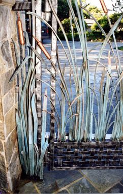 Custom Made Reed Plant Motif Fencing & Railing