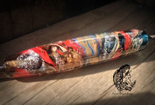 Custom Made Cremation Glass Writing Pen