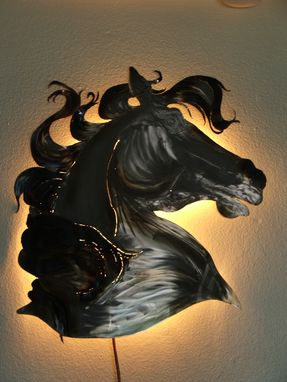 Custom Made Metal Art Design, Wall Decor, Kim's Steel Horses