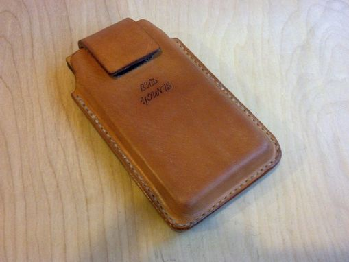 Custom Made Leather Cell Phone Holsters Samsung Galaxy. Droid. I Phone