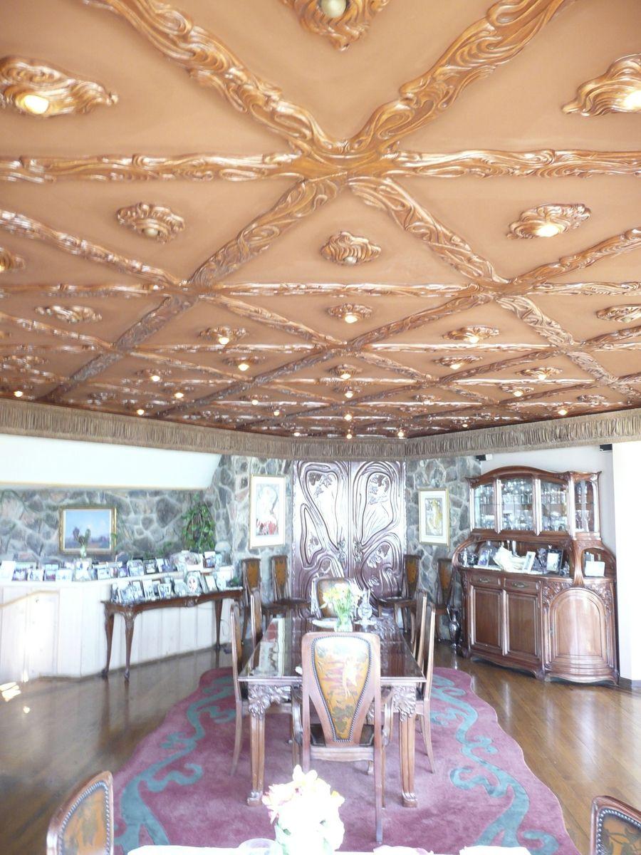 Amazing Hand Crafted Malibu Mahogany Art Nouveau Dining Room By Download Free Architecture Designs Photstoregrimeyleaguecom
