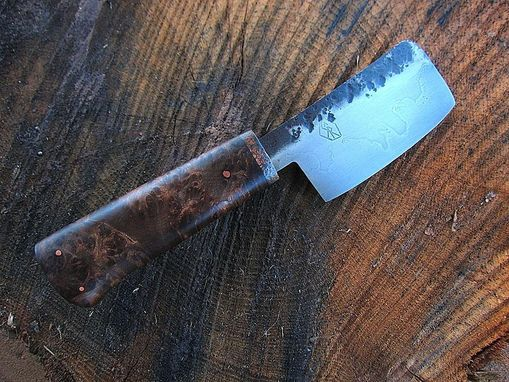 Custom Made Herbal Chopper Knife