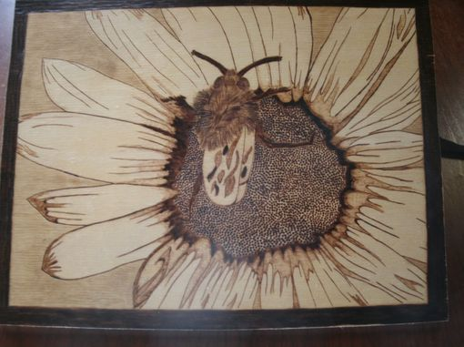 Custom Made Pyrographic Wall Art