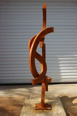 "Custom Made Modern Sculpture ""Without Bends"""