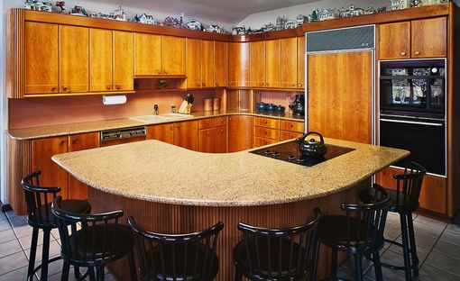 Custom Made Contemporary Kitchen Cabinets