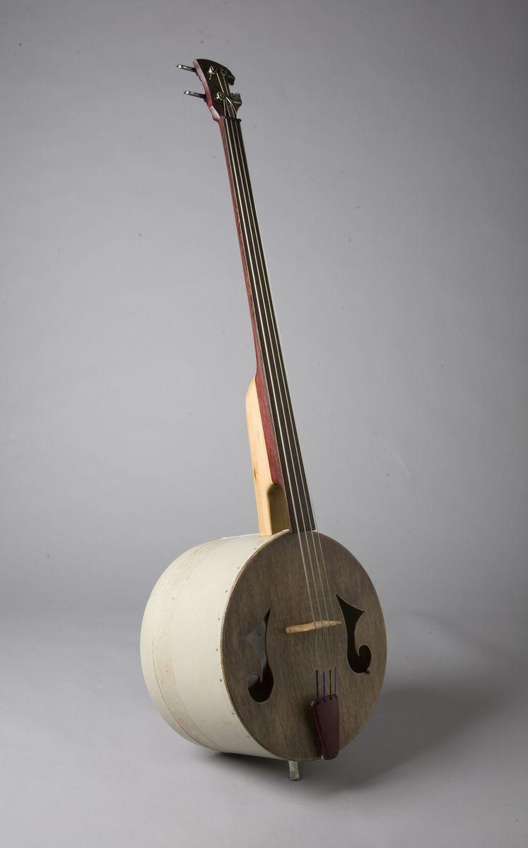 Hand Crafted Upright Bass By J J Savage Ceramics