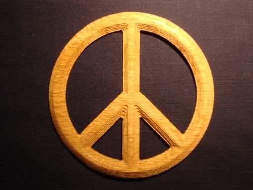 Custom Made Peace Sign