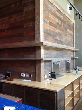 Custom Made Rustic Brewery Tasting Room