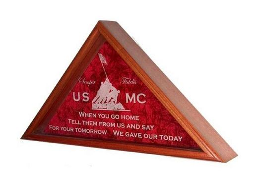 Custom Made Marine Corps Gifts, Marine Corps Flag Cases, Marine Corp Gift