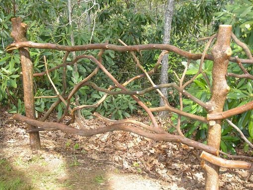 Custom Made Exterior Rhododendron Post And Laurel Railing