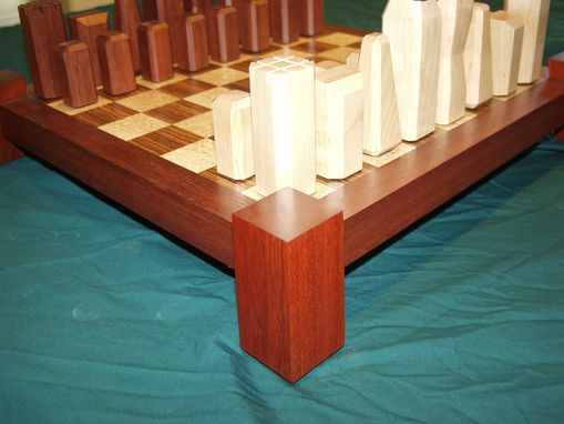 Custom Made Hand Crafted Chess Set