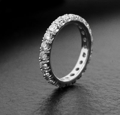 Custom Made V-Mirror Wedding Band