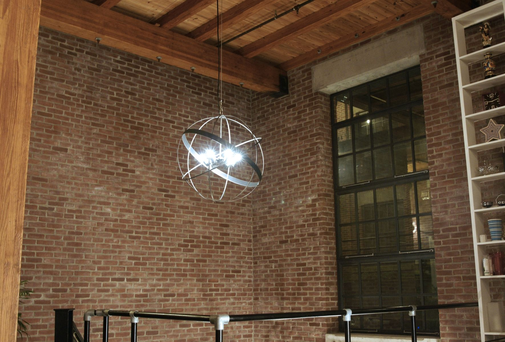 Hand crafted industrial chandelier by leap metal custommade custom made industrial chandelier mozeypictures Image collections